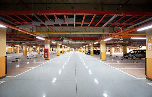 Hầm đỗ xe dự án Florence Mỹ Đình