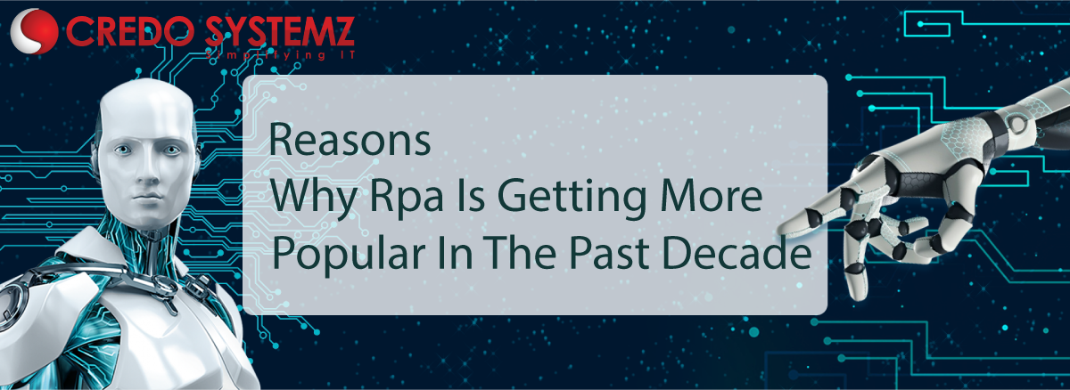 Reasons Why Rpa Is Getting More Popular In The Past Decade