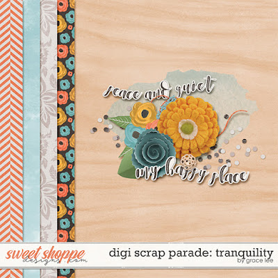 EXPIRED: Digi Scrap Parade: Tranquility