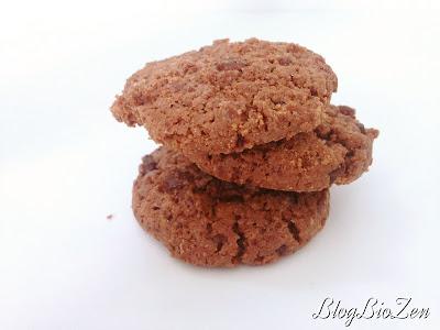 cookies tout chocolat - Carrés Ronds