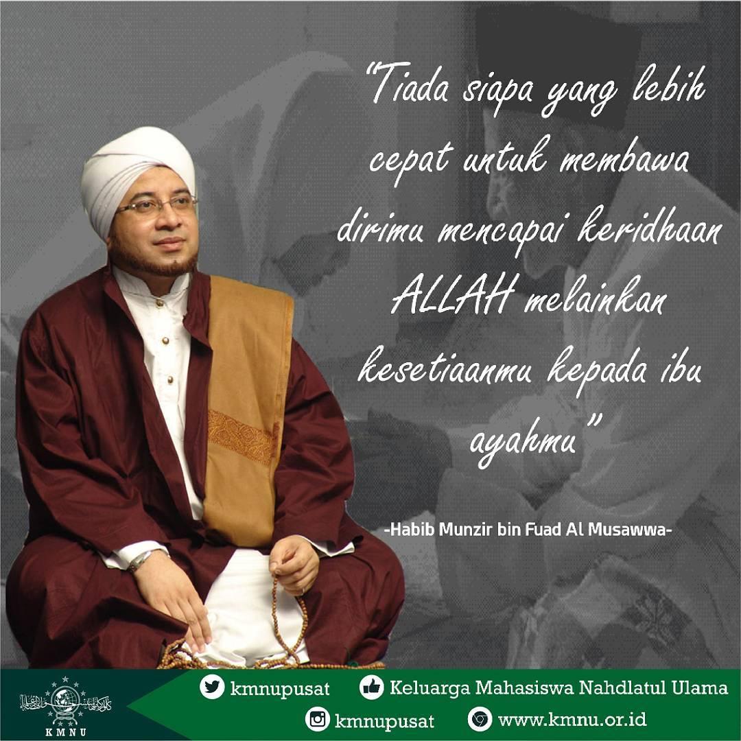 Kata Mutiara Nasehat Dari Habib Mundzir Bin Fuad Al Musawa Meme