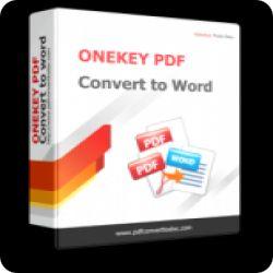 تحميل ONEKEY PDF CONVERT TO WORD لتحويلPDF مع serial number كود التفعيل