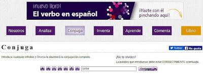 http://www.onoma.es/conjuga-verbo.html#cantar+pronominal=false+tiempos=0$3$+personas=1$2$4$5$8$10$12$13$+paradigma=2