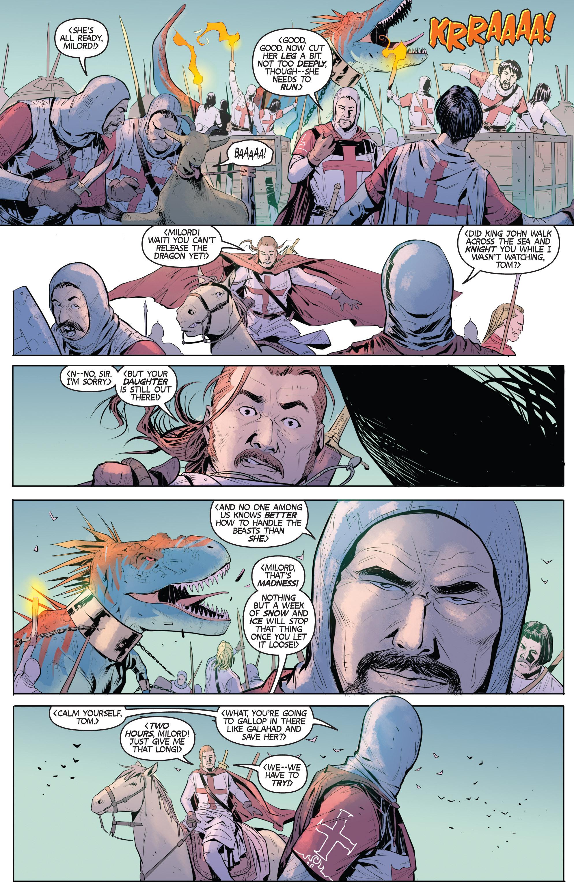 Read online Turok: Dinosaur Hunter (2014) comic -  Issue # _TPB 1 - 59
