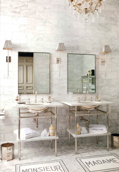 Perfect His and Her Bath | Betty Lou Phillips | Content in ...