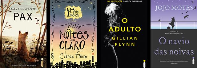 Lançamento de Livros - Julho / Editora Intrínseca
