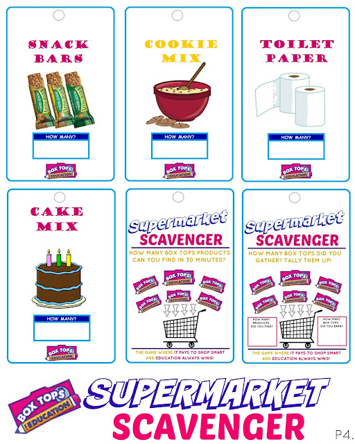 Box Tops-Printable Jar Label By PrimaryLearnerSpot TpTbox tops