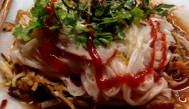 Sour noodle specialties in Ha Giang 2