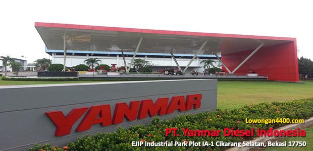 Lowongan Kerja PT. Yanmar Diesel Indonesia EJIP Terbaru