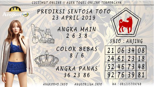 Prediksi Angka Jitu SENTOSA TOTO 23 APRIL 2019