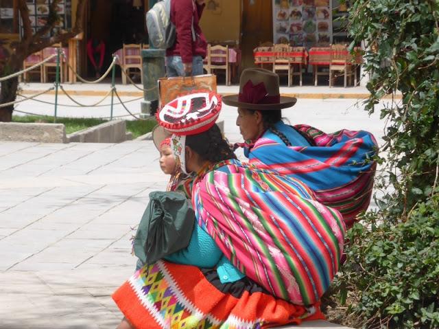 Traje típico de Perú