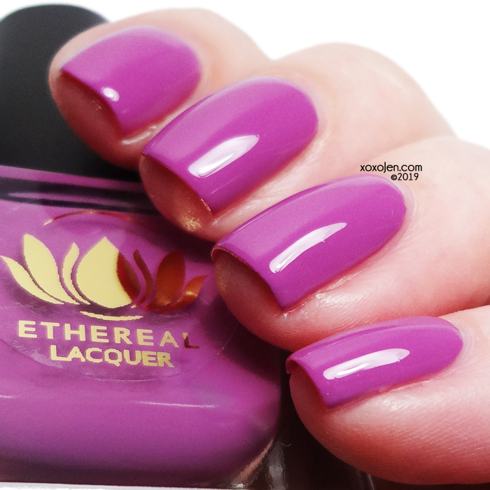 xoxoJen's swatch of Ethereal Lacquer Passionfruit