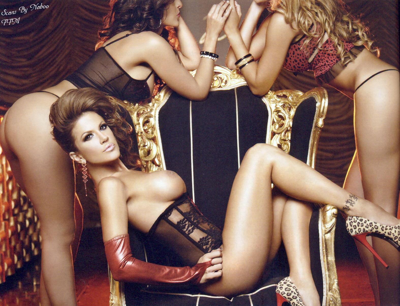 Silvia Irabien desnuda en Playboy