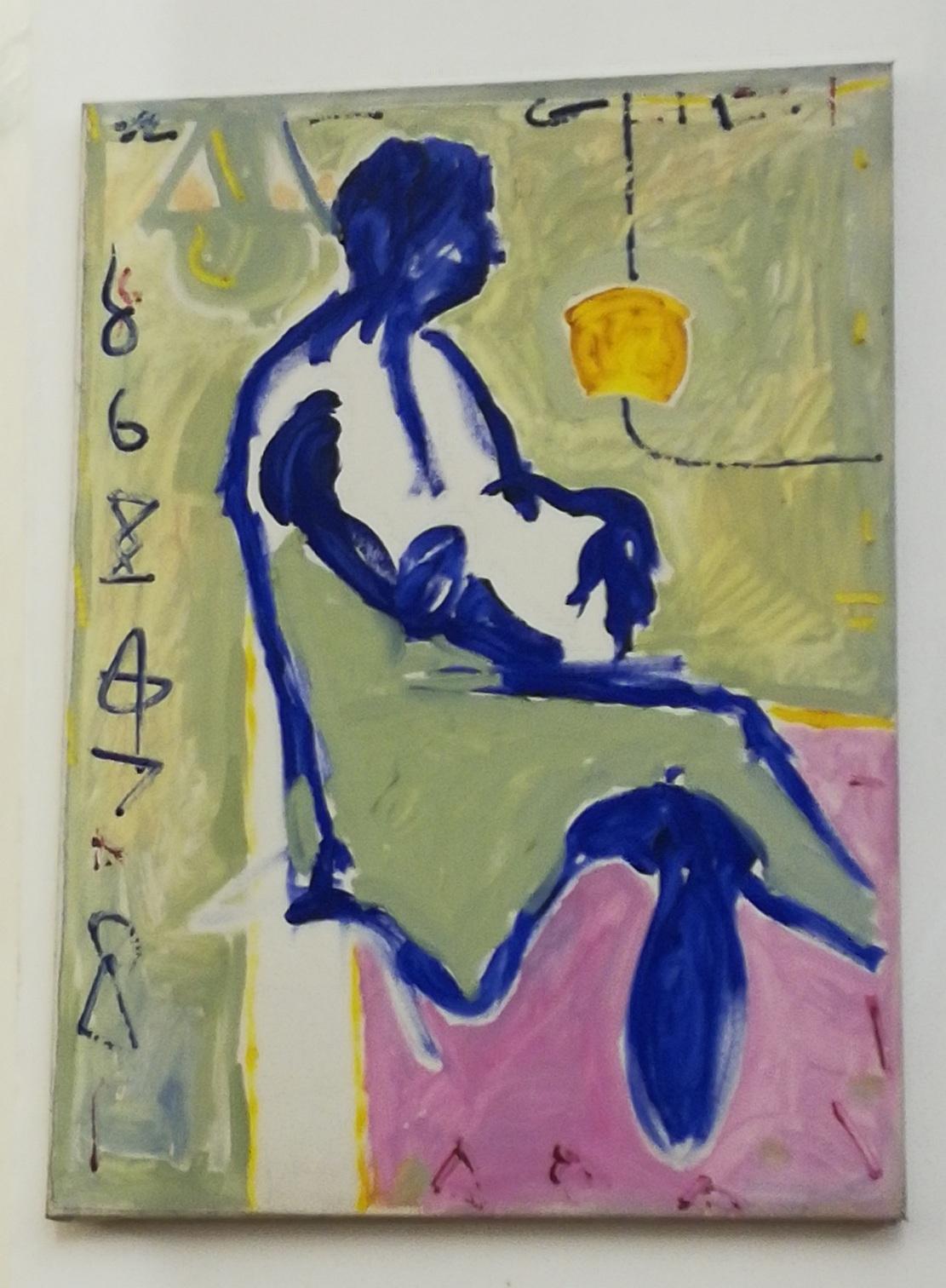 Alberto D Amico asemic net: painting / alberto d'amico. 1984