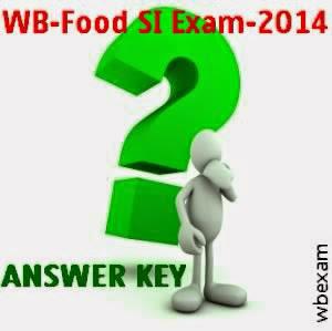 WBSSC Food SI (Sub Inspector) Exam 2014 Answer Key | Result date & Cutoff marks 1