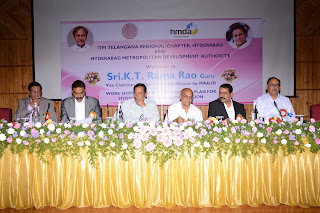 V.Satyanarayana, ITPI,   K.Anand Babu, Chairman, ITPI-TRC,     T. Chiranjeevulu, IAS, Commissioner, HMDA.     Dr.D.S. Mesharam, President