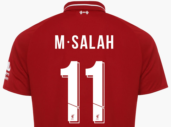 All-New Liverpool 18-19 Kit Font Revealed - Footy Headlines