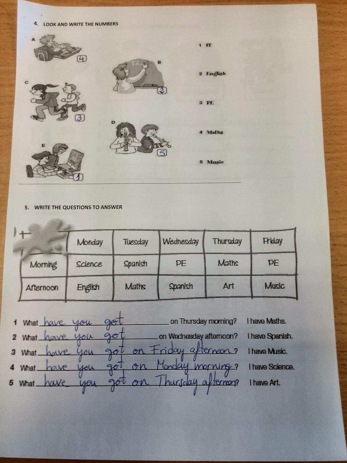 English 4th Grade Primary