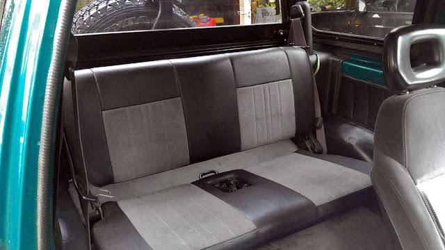 Sidekick Back Seat
