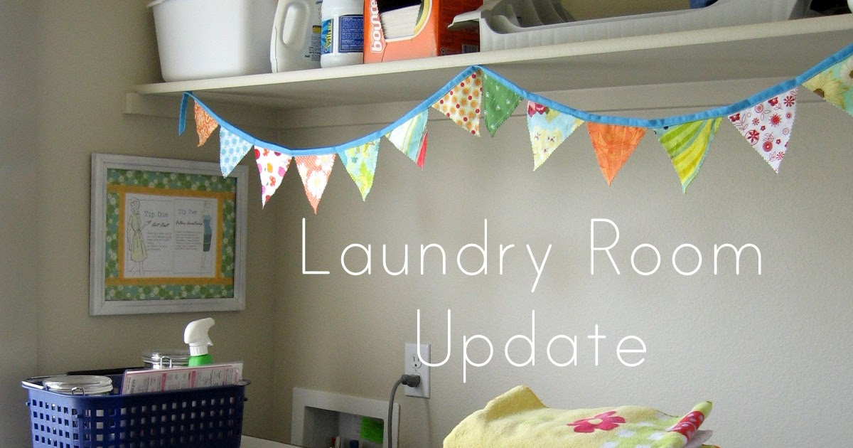 Pickup Some Creativity Easy Laundry Room Update