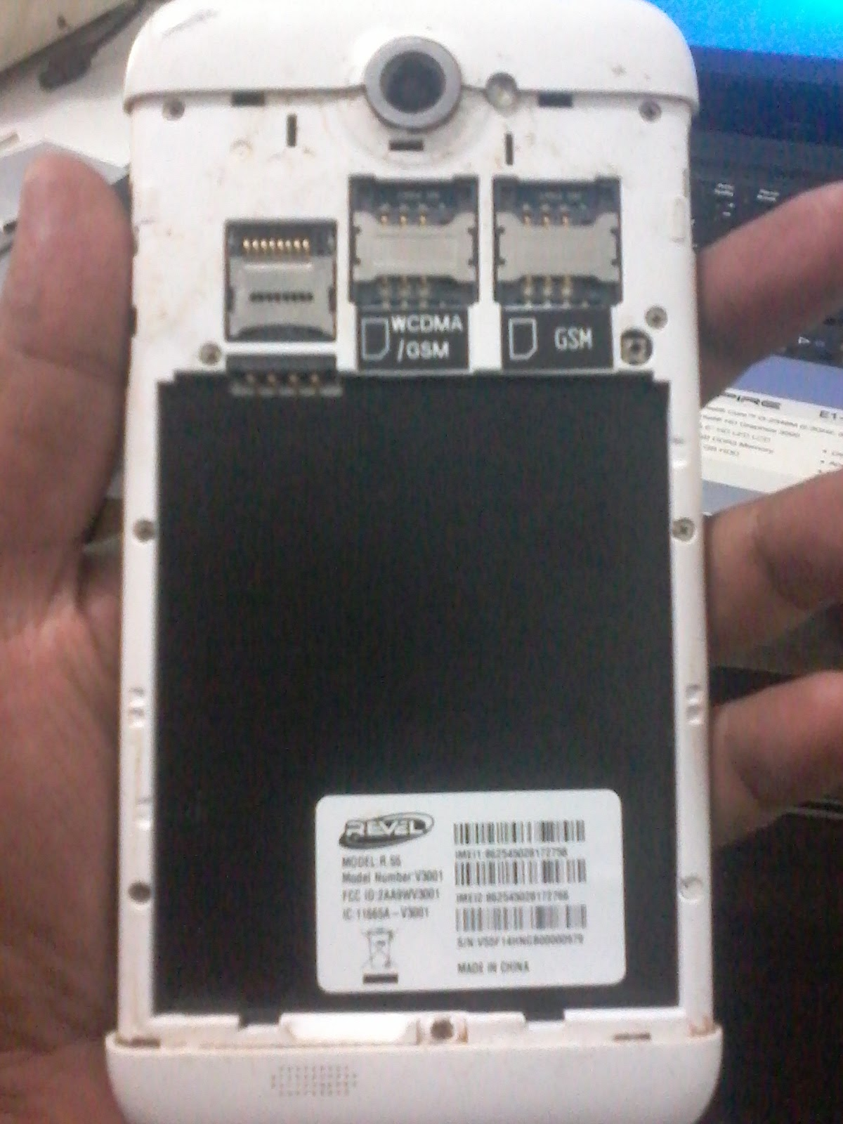 REVEL R 55 FIRMWARE MT6582 FLASH FILE 100%TESTED BY GSM