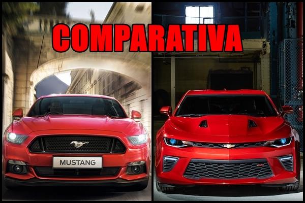 Comparativa Ford Mustang GT vs Chevrolet Camaro SS