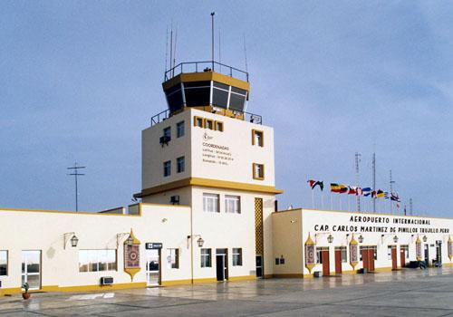 Aeropuerto Internacional Capitán FAP Carlos Martínez de Pinillos de Trujillo