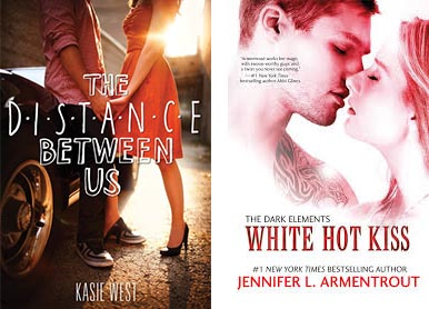 portada the distance between us white hot kiss