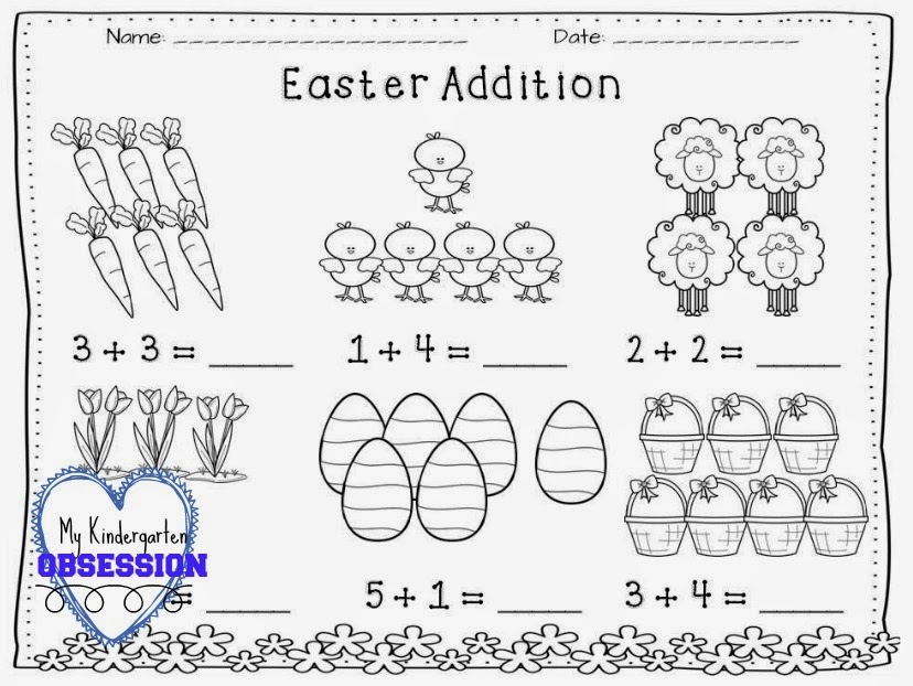 My Kindergarten Obsession : Easter Centers for