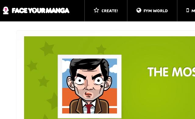Páginas Webs para crear avatares gratis - Face Your Manga - Solo Nuevas