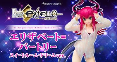 Elizabeth Bathory Suite Room Dream ver. 1/8 de Fate/Extella - Funny Knights