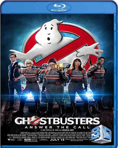 Ghostbusters [2016] [BD50] [3D] [Latino]