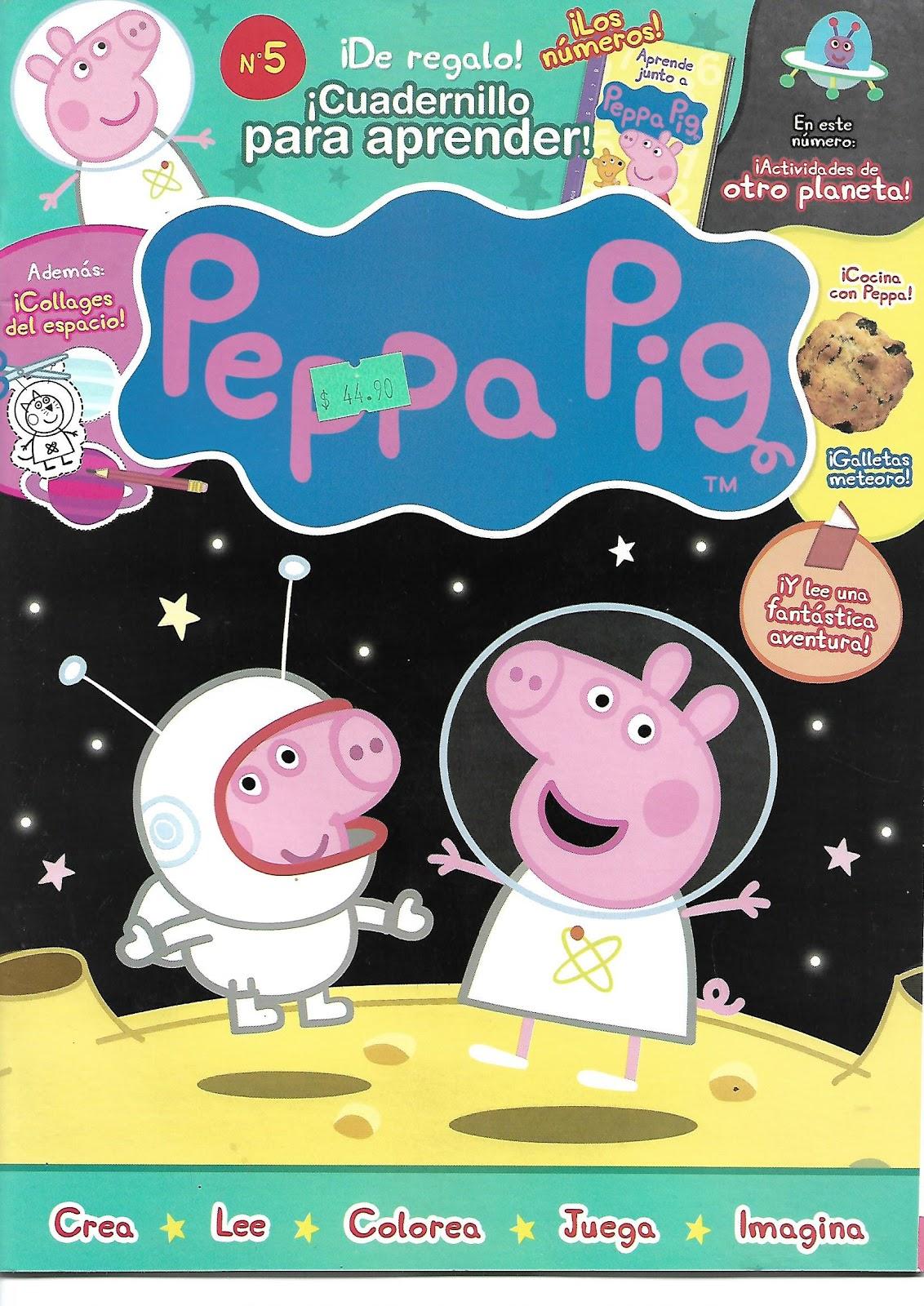 Excelente Páginas De Peppa Pig Color Regalo - Dibujos Para Colorear ...