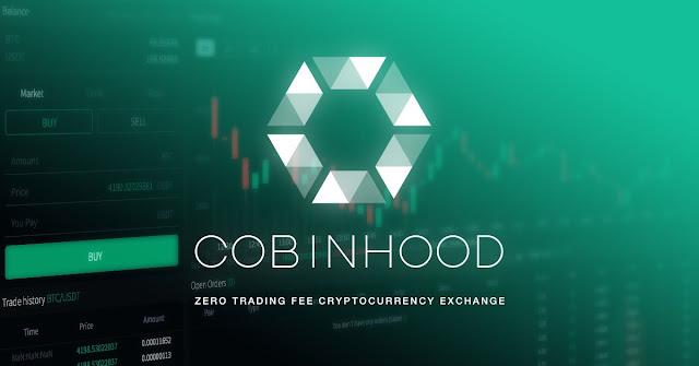 Info fitur menarik yang ditawarkan COBINHOOD untuk trader.