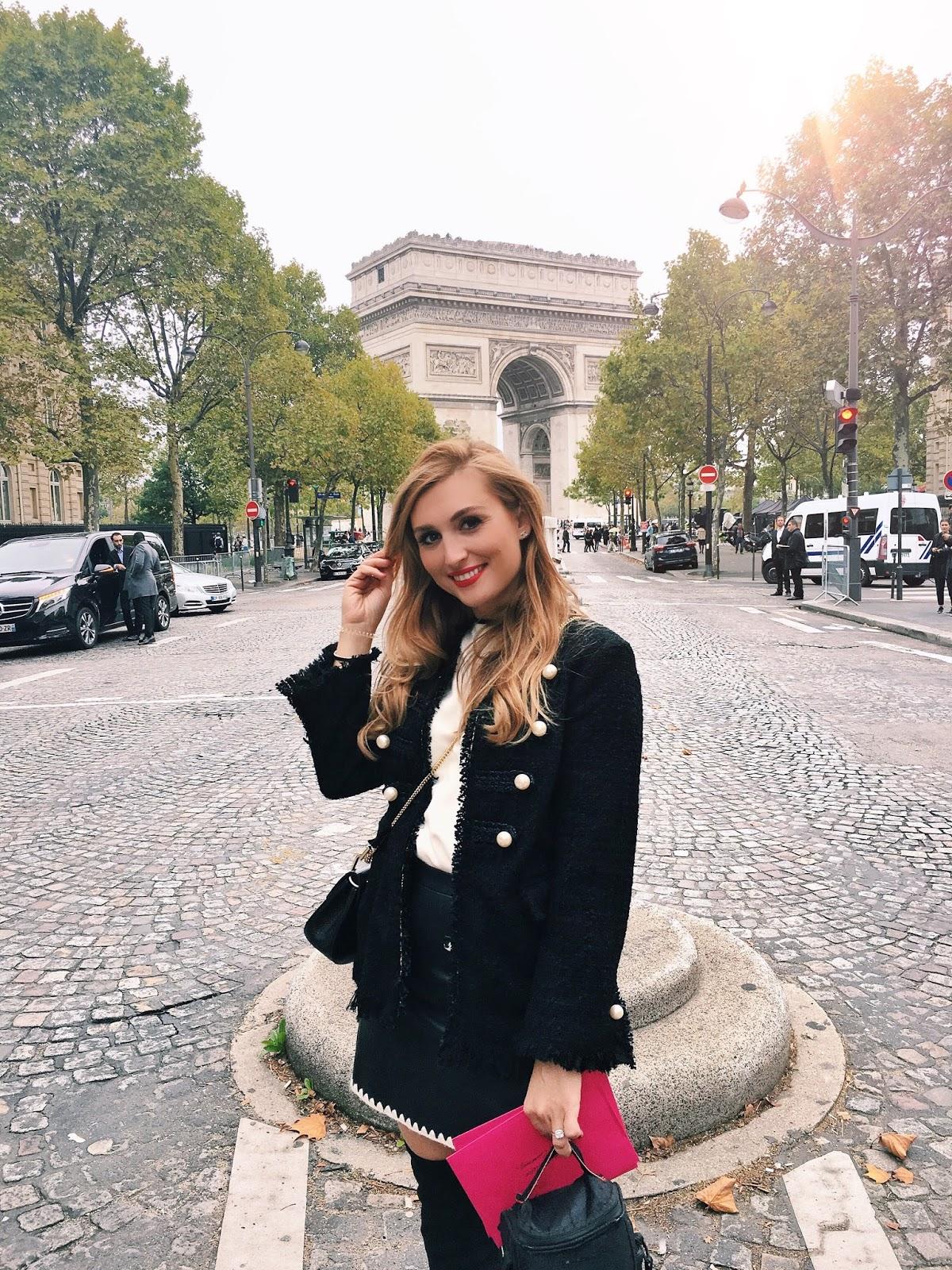 Olivia-Palermo-streetsyle-look-paris-fashionweek-fashionstylebyjohanna-blogger-aus-deutschland-zara-blazer-perlen-look-like-chanel-blazer