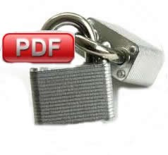 PDF unsecure