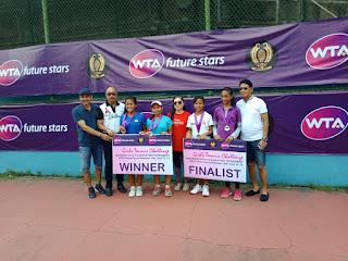 Nadya Dan Gina Juara WTA Future Stars Bali 2018