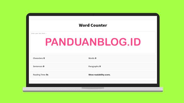 Cara Membuat Aplikasi Word Counter Berbasis Html Panduan Blog
