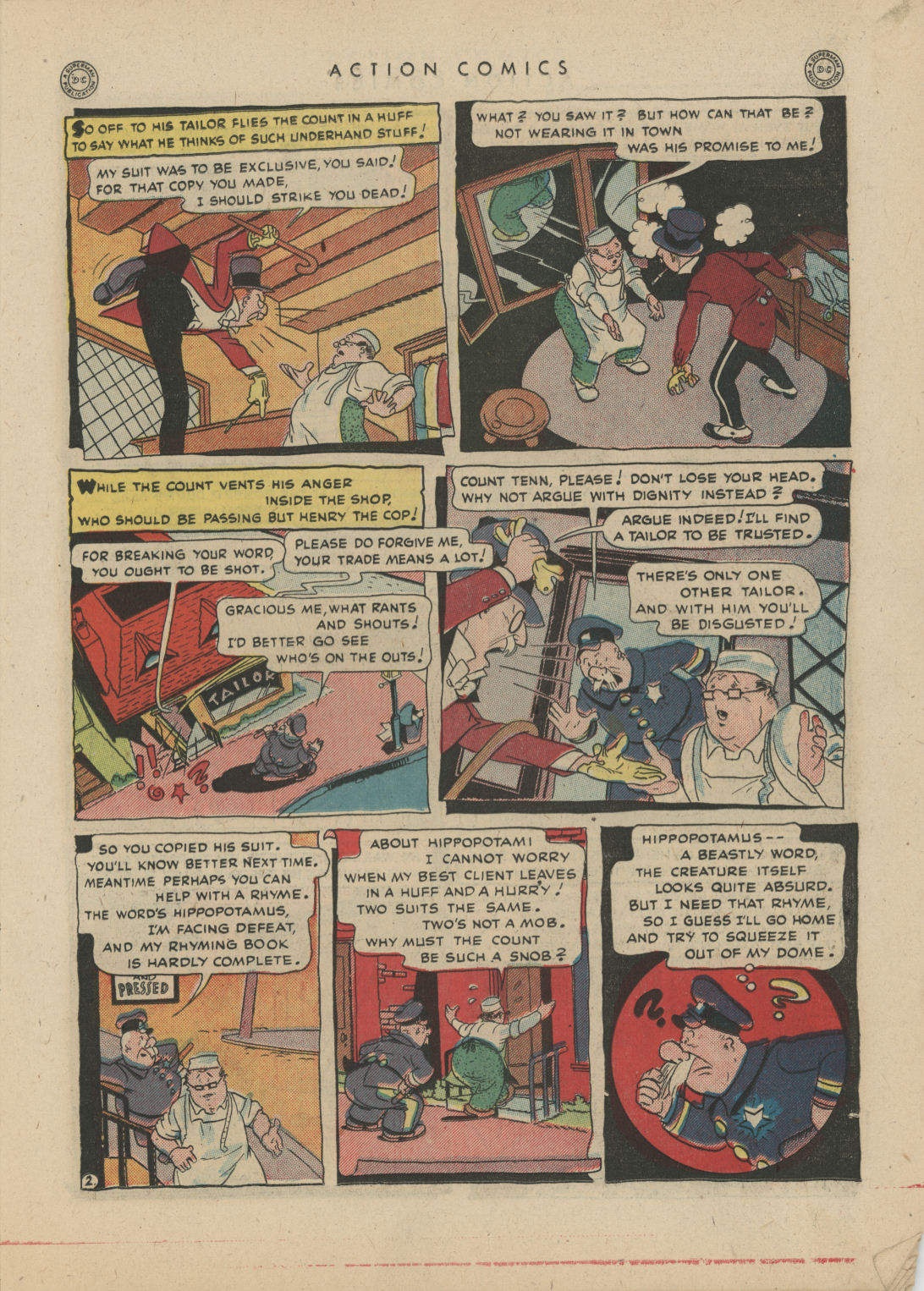 Read online Action Comics (1938) comic -  Issue #83 - 17