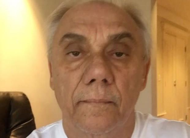 Marcelo Rezende, apresentador e jornalista: Velório /O jornalista, de 65 anos