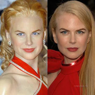 Escultura de cera Nicole Kidman