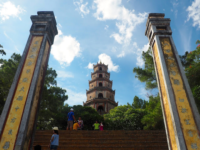 Thien Mu pagoda outside Hue, Vietnam