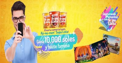 [Concurso] Graba tu comercial y gana S/10,000 - Capturando Momentos con Sopa Lista