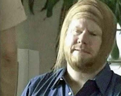 Alte Männer Frisuren lustig - mit Teil Glatze