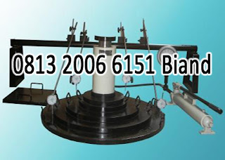 jual plate bearing test set murah