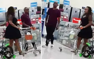 Joseph kori and Women who she was seen together shopping have known each other for a long time, Close relative spills the  beans