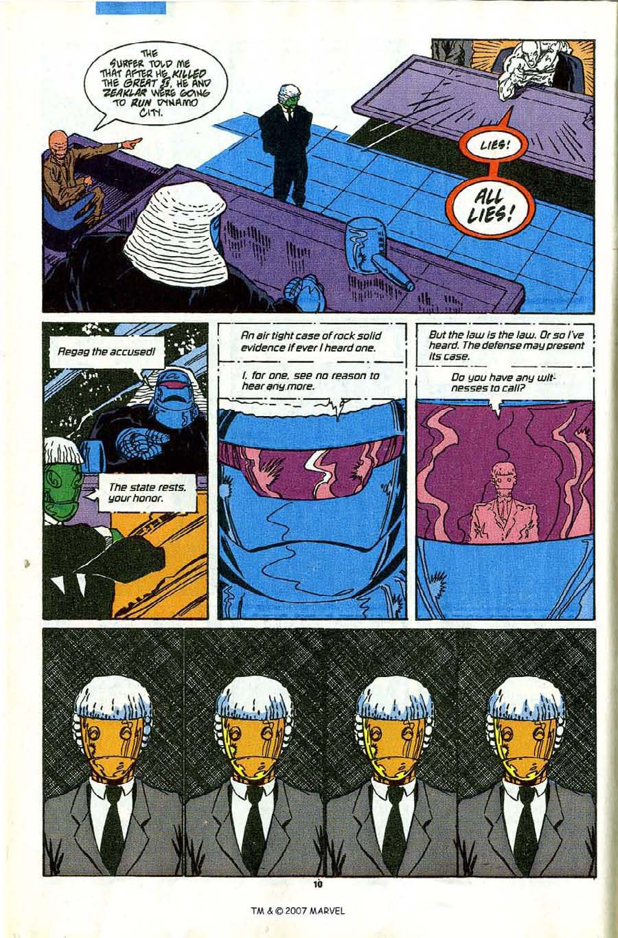 Read online Silver Surfer (1987) comic -  Issue #43 - 12