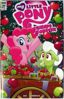 MLP Friends Forever comic #27 cover by Tony Fleecs