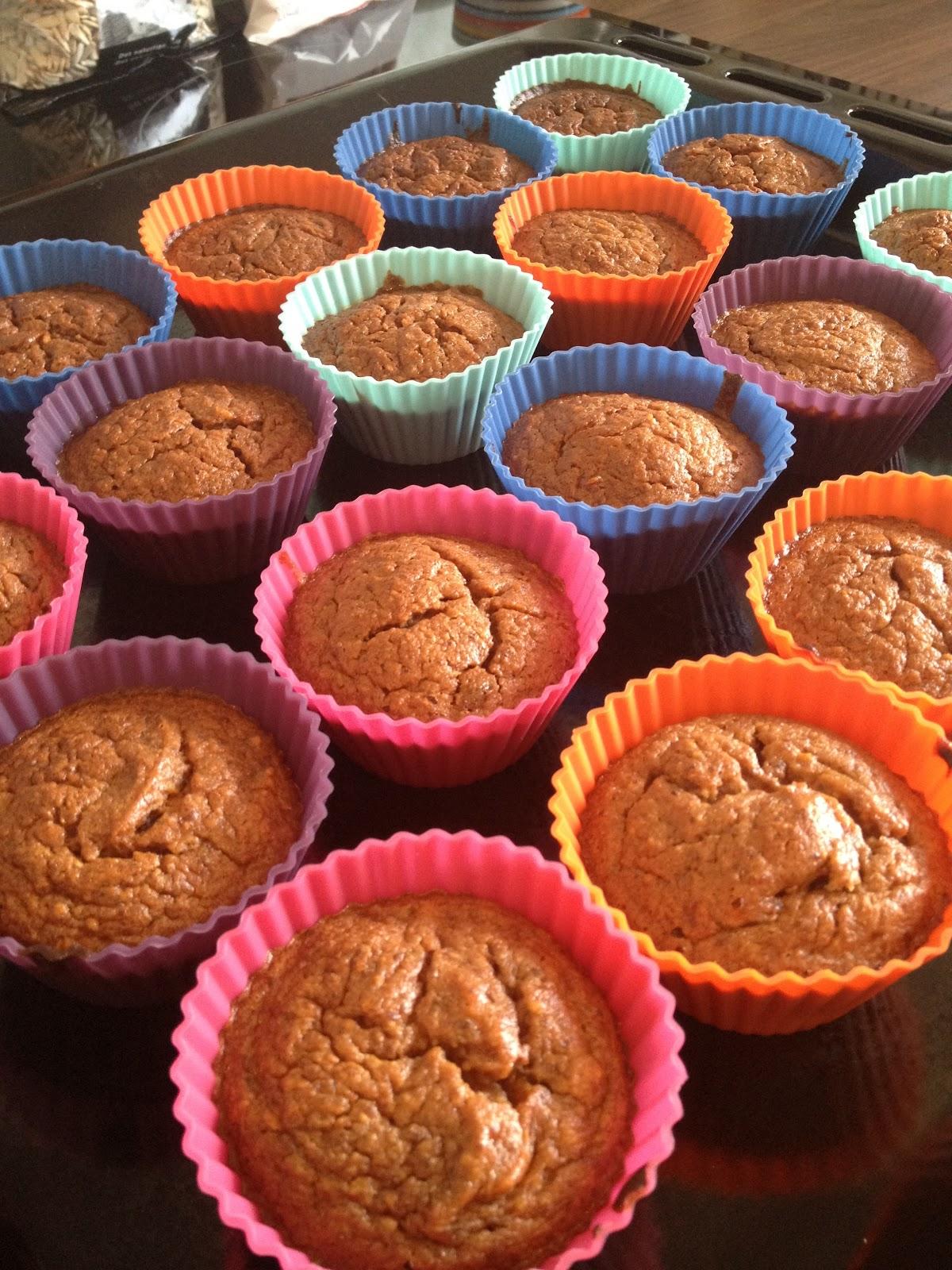 Trendy mama & hverdagens strabadser!: Sunde muffins!