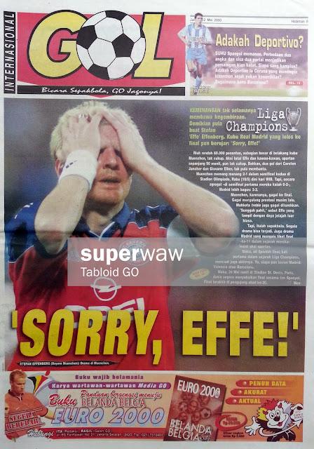GOL INTERNASIONAL: 'SORRY EFFE!'